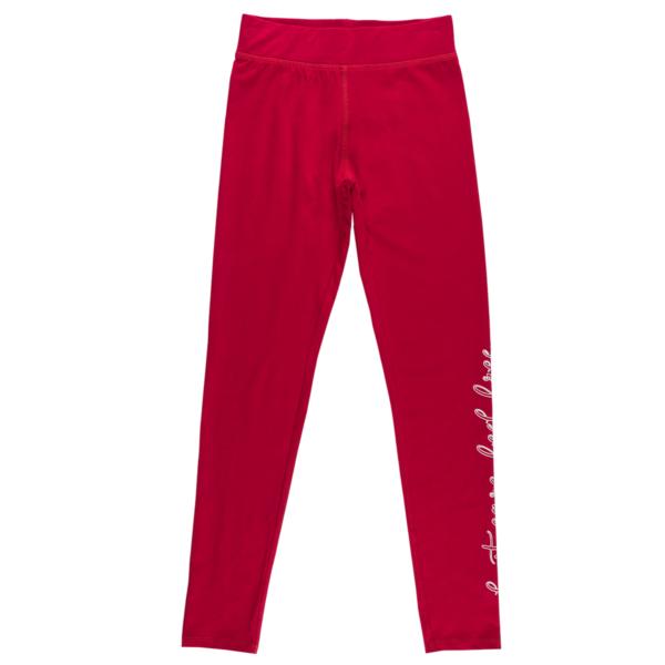 Dekliške hlače, rdeča