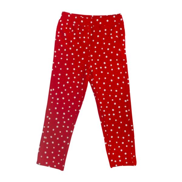 Baby hlače, rdeča