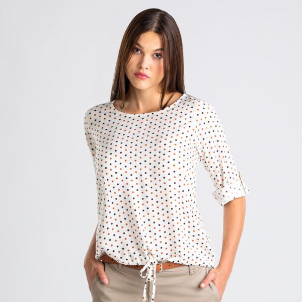 Ženska bluza, umazano bela