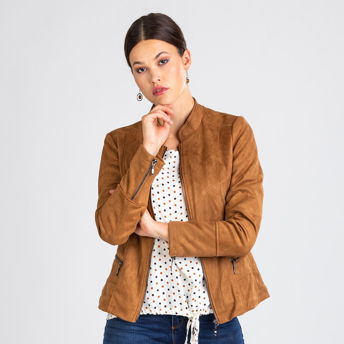Ženska jakna, rjava
