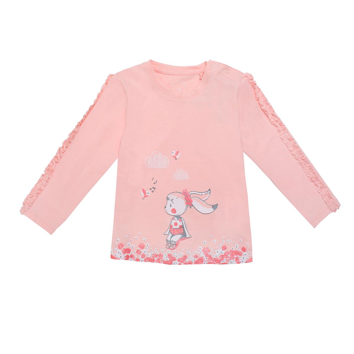 Baby majica, svetlo roza
