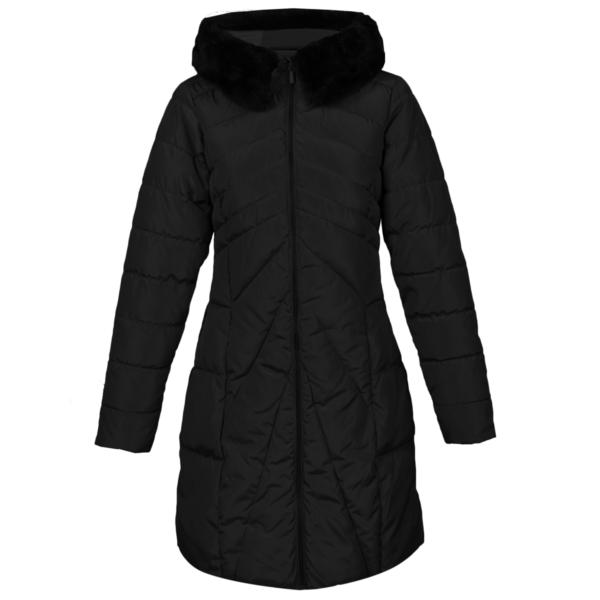 Ženska bunda, črna