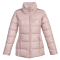 Ženska bunda, svetlo roza