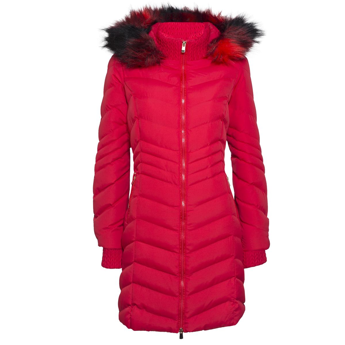 Ženska bunda, rdeča