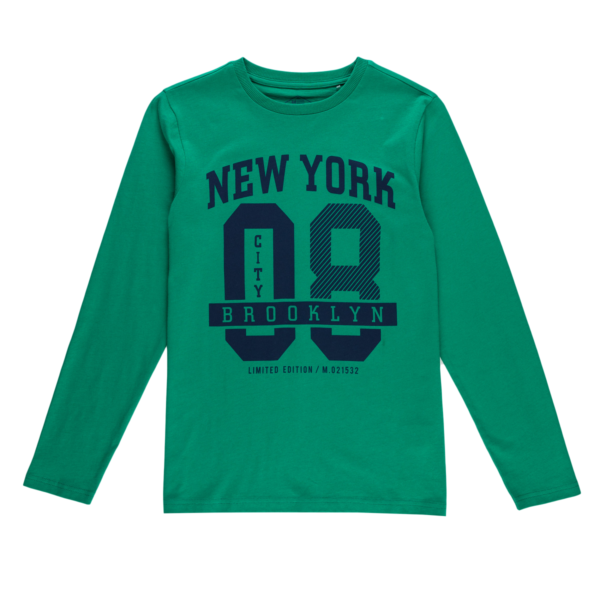 Fantovska majica, zelena