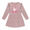 Dekliška obleka, roza