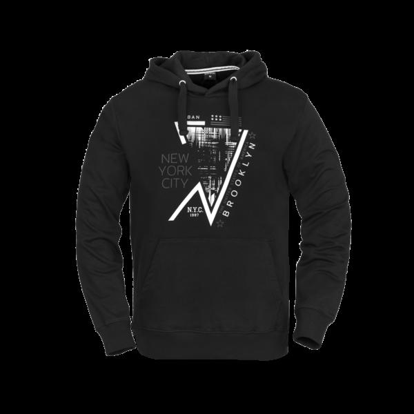 Moški pulover, črna