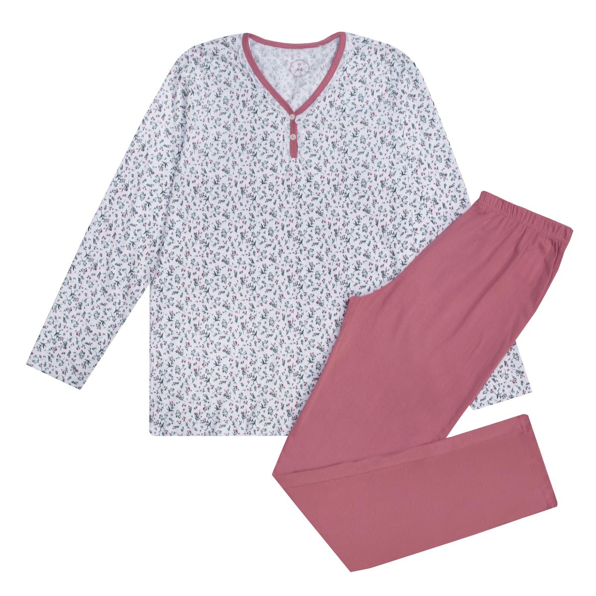 Ženska pižama, bela