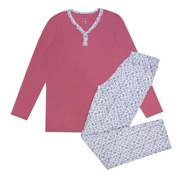 Ženska pižama, roza