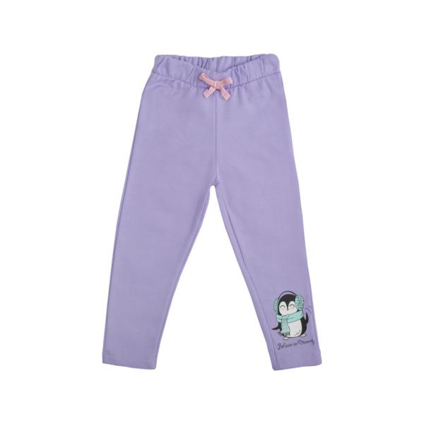 Baby hlače, svetlo vijolična