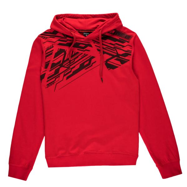 Moški pulover, rdeča