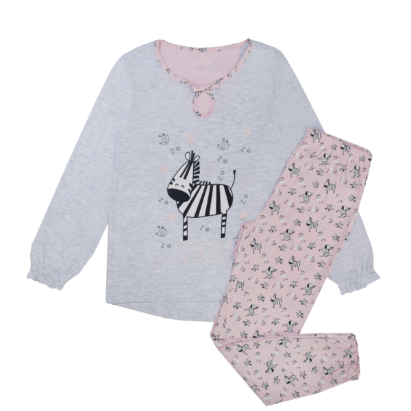 Dekliška pižama, umazano bela