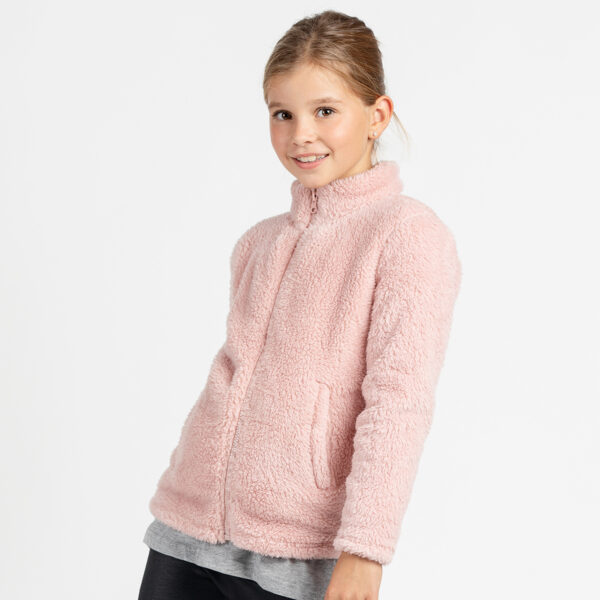 Dekliška jakna, svetlo roza