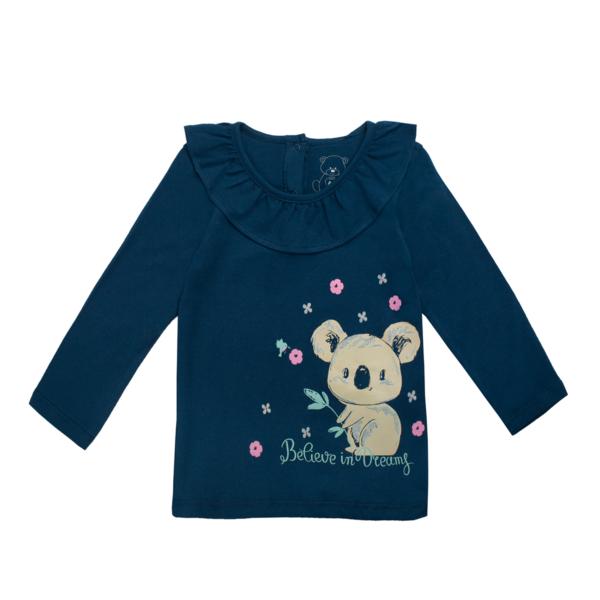Baby majica, temno modra