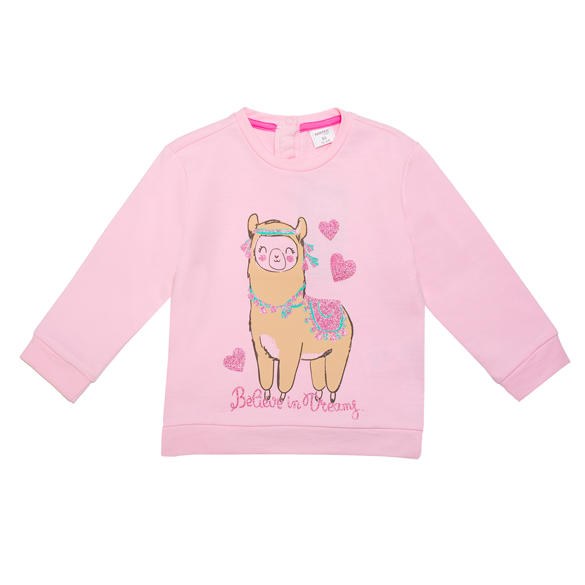 Baby pulover, svetlo roza