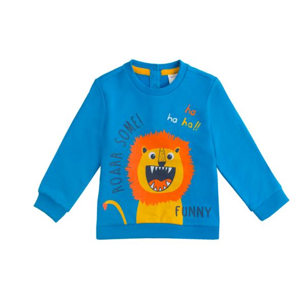 Baby pulover, modra