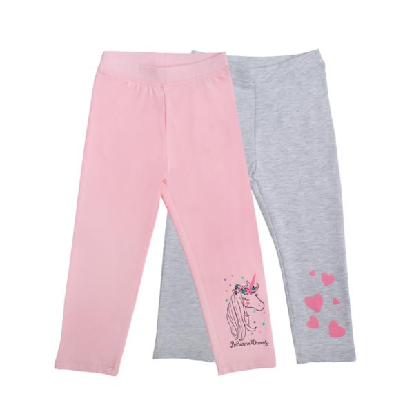 Baby hlače, svetlo roza