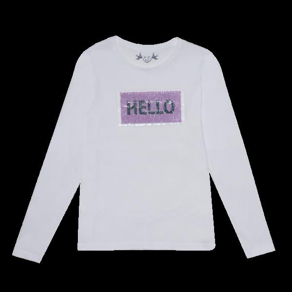Dekliška majica, bela