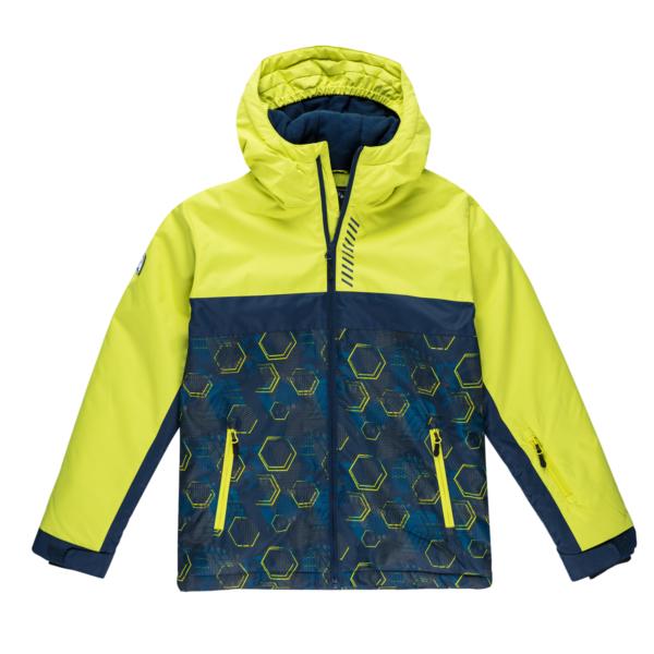 Fantovska bunda, svetlo zelena