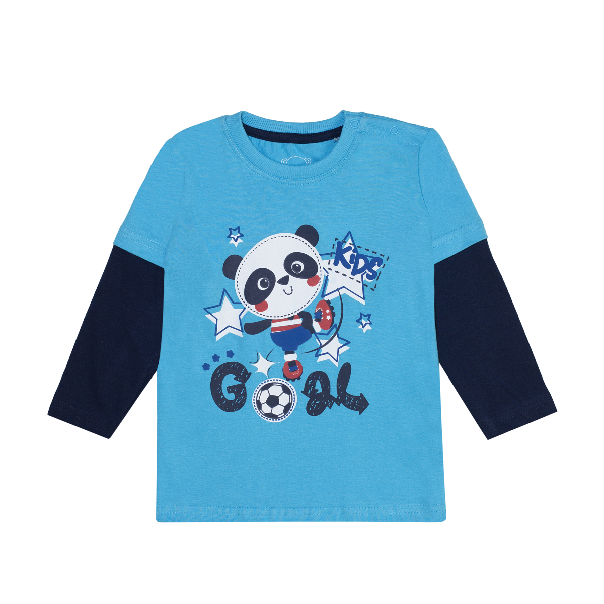 Baby majica, svetlo modra