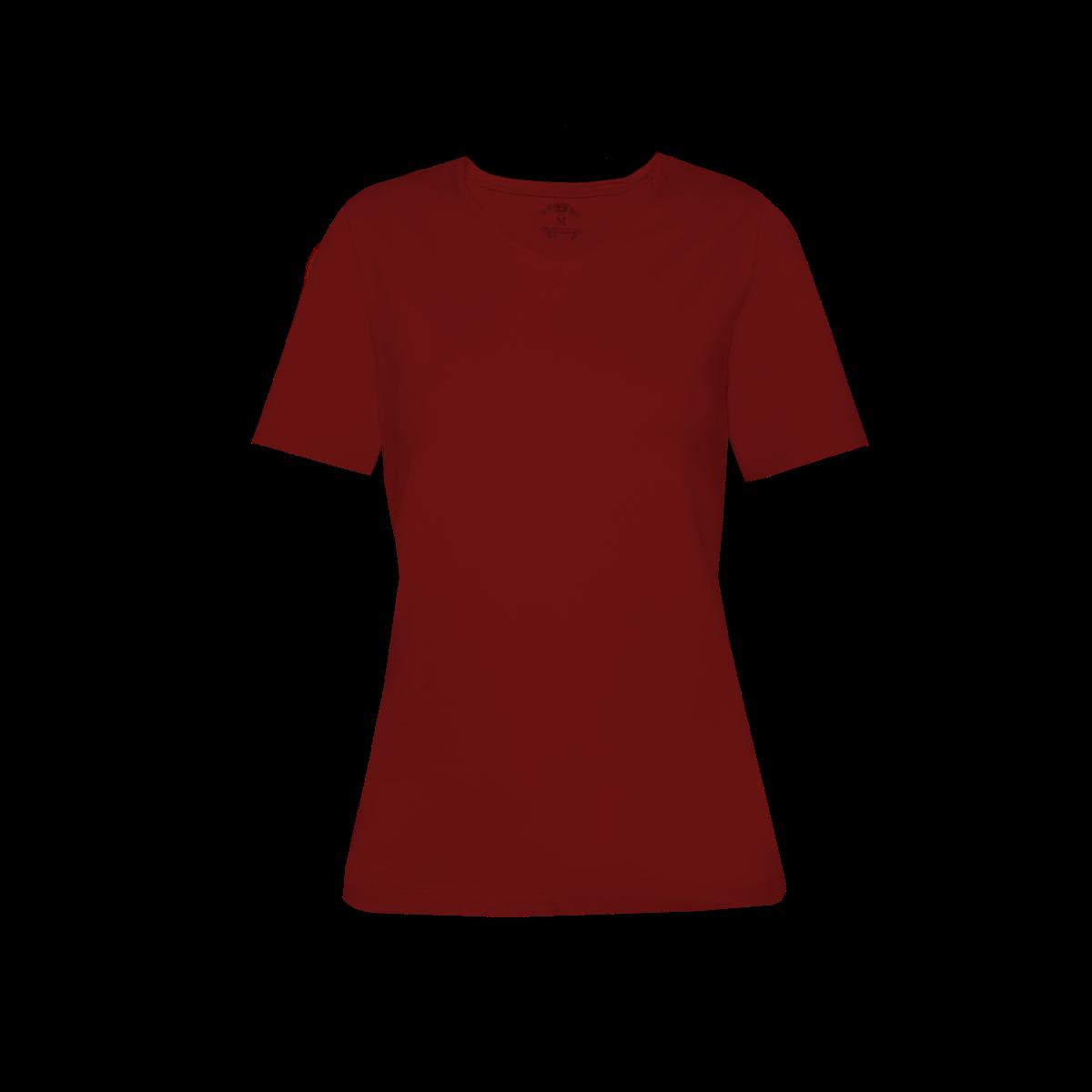 Ženska majica, rdeča