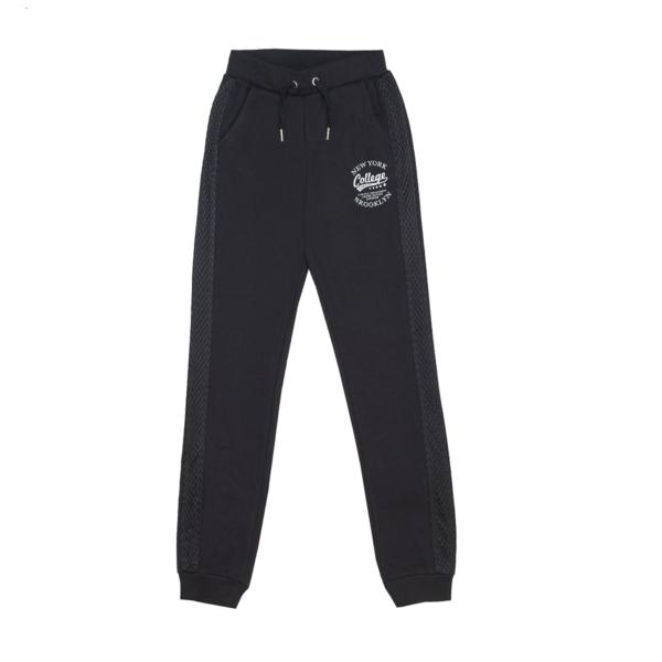 Dekliške hlače, črna