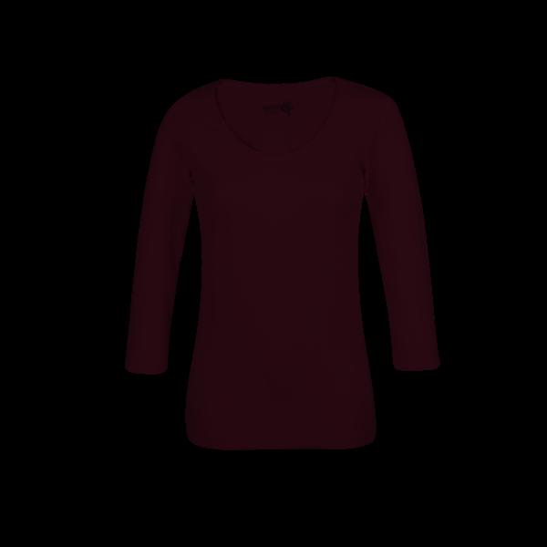 Ženska majica, temno roza