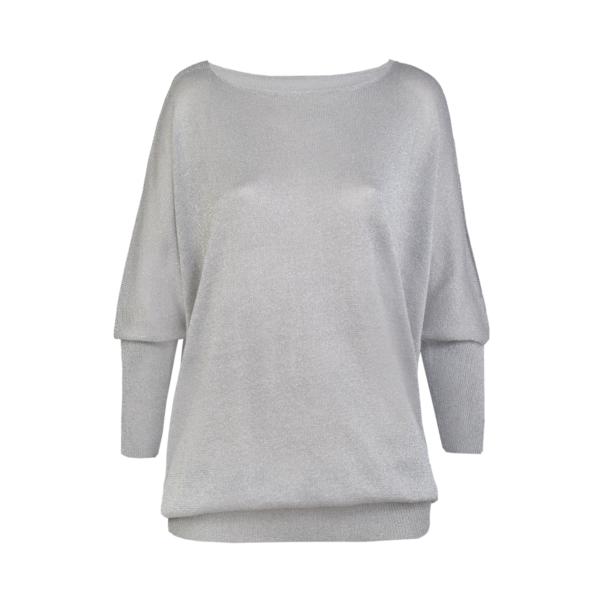 Ženski pulover, siva