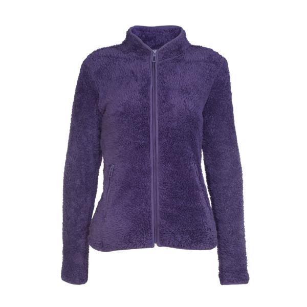 Ženska jakna, temno vijolična