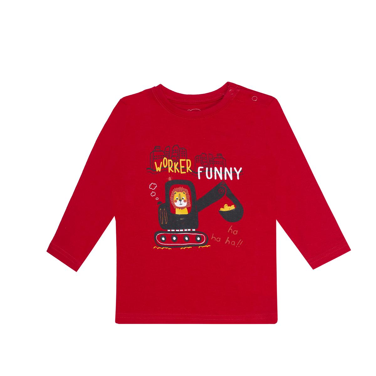 Baby majica, rdeča