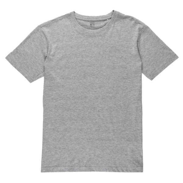 Moška majica, melange siva