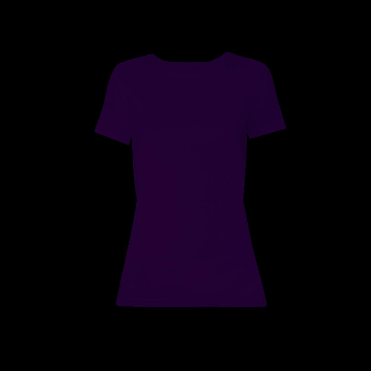 Ženska majica, temno vijolična