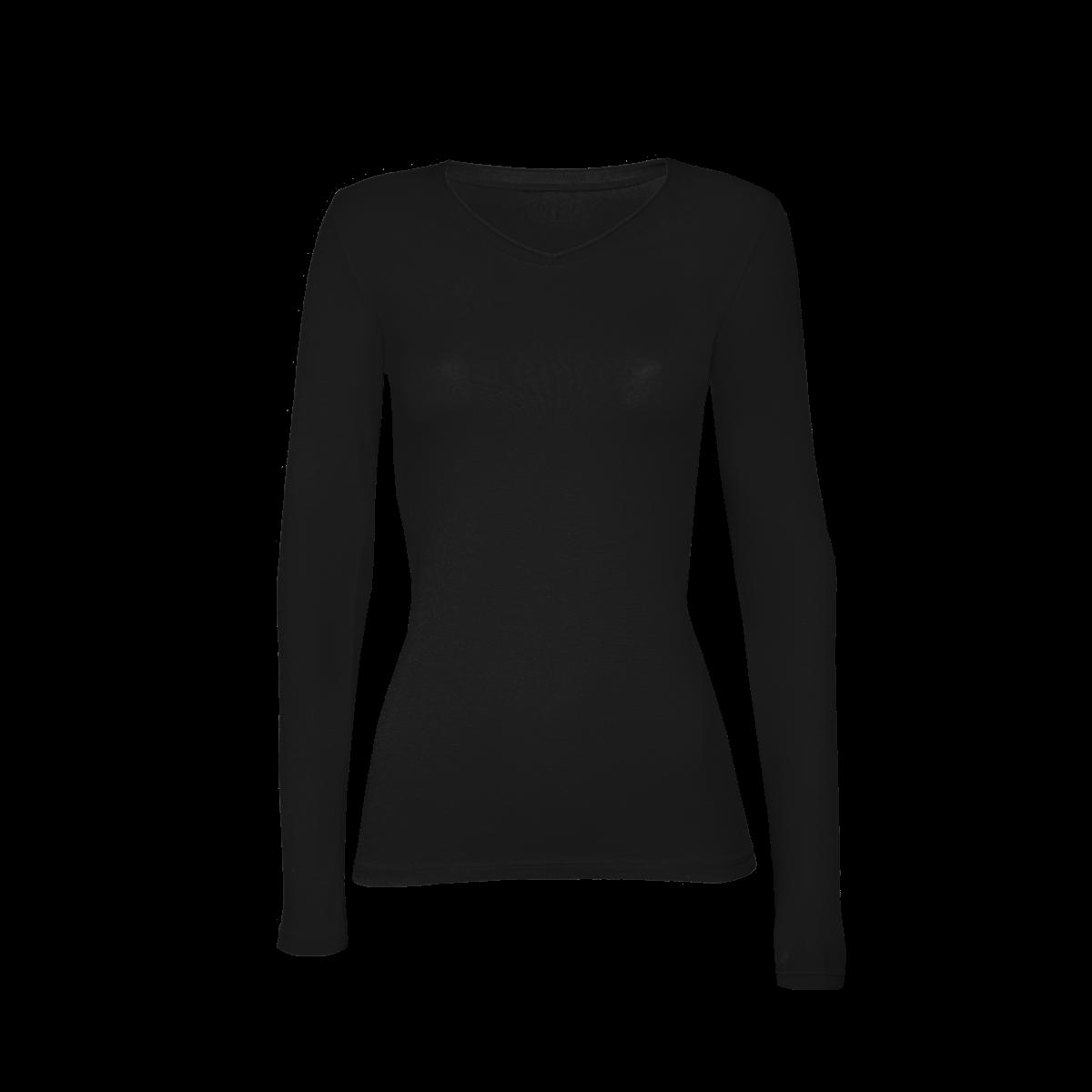Ženska majica, črna