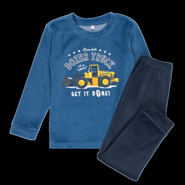 Fantovska pižama, modra