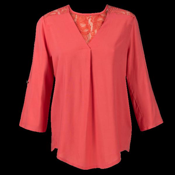 Ženska bluza, svetlo rdeča