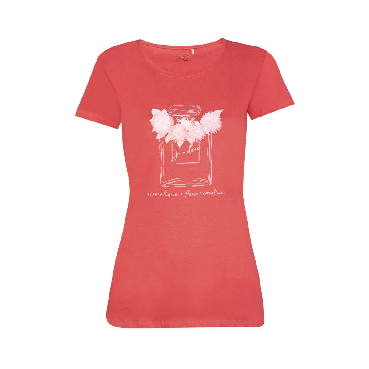 Ženska majica, svetlo rdeča