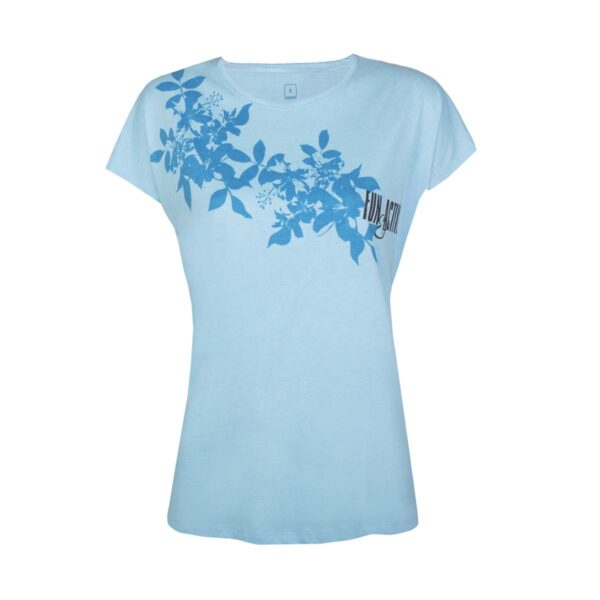 Ženska majica, svetlo modra
