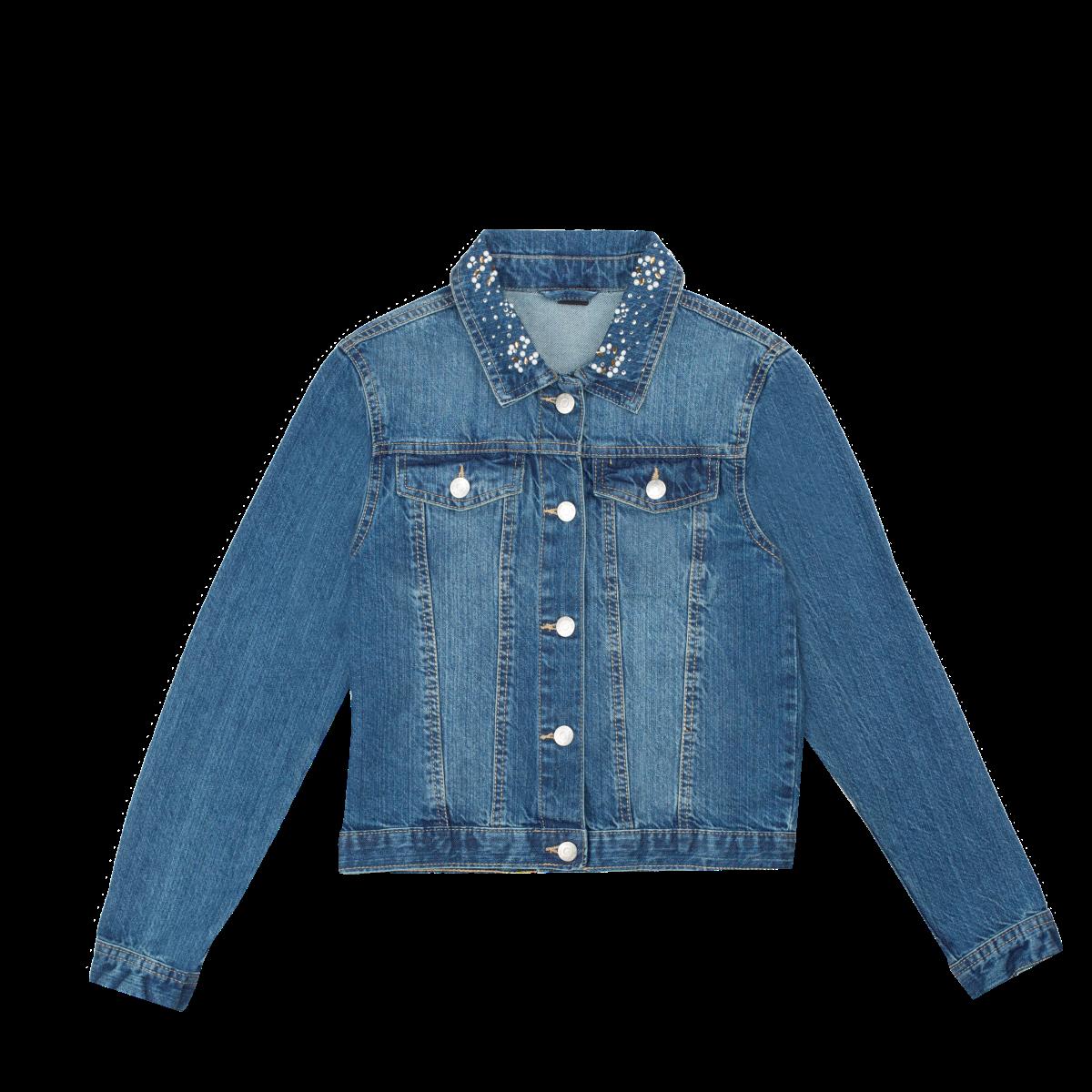 Dekliška jakna, modra