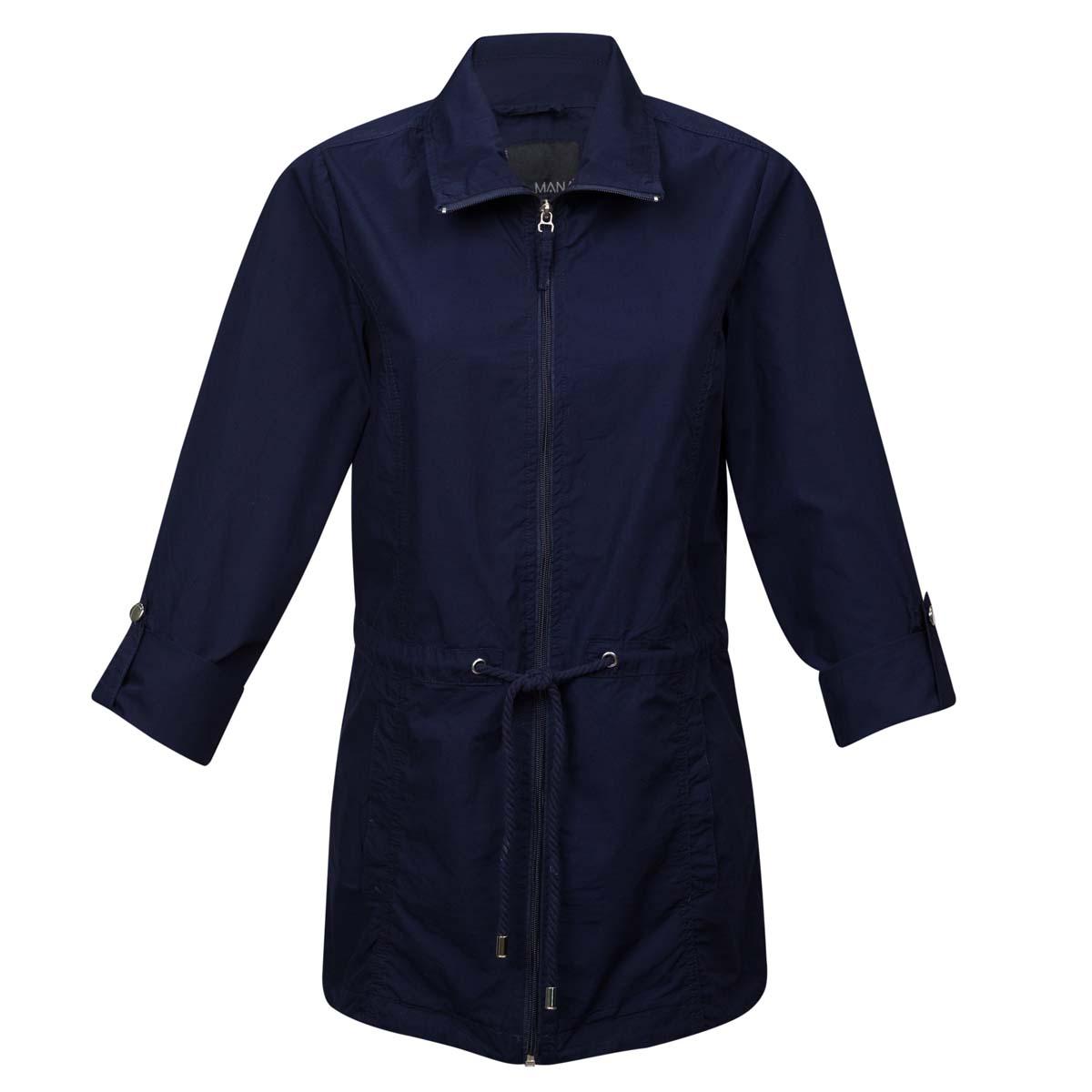 Ženska jakna, temno modra