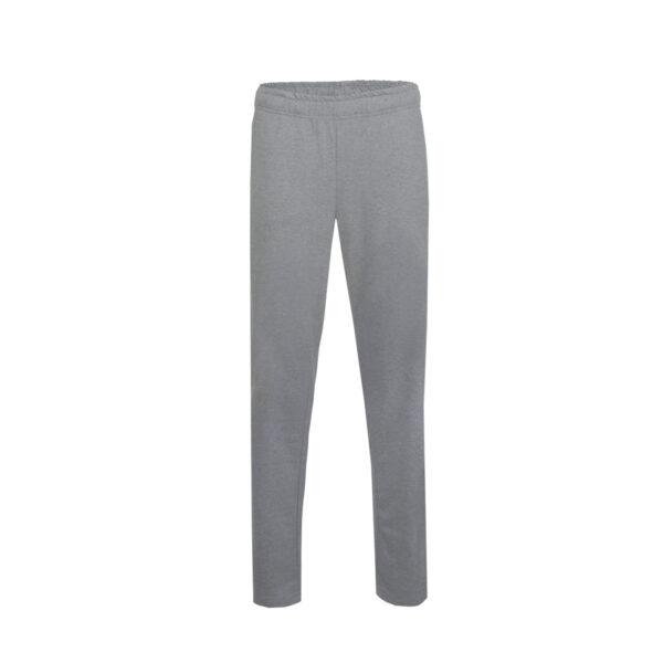 Ženske hlače, temno melange siva