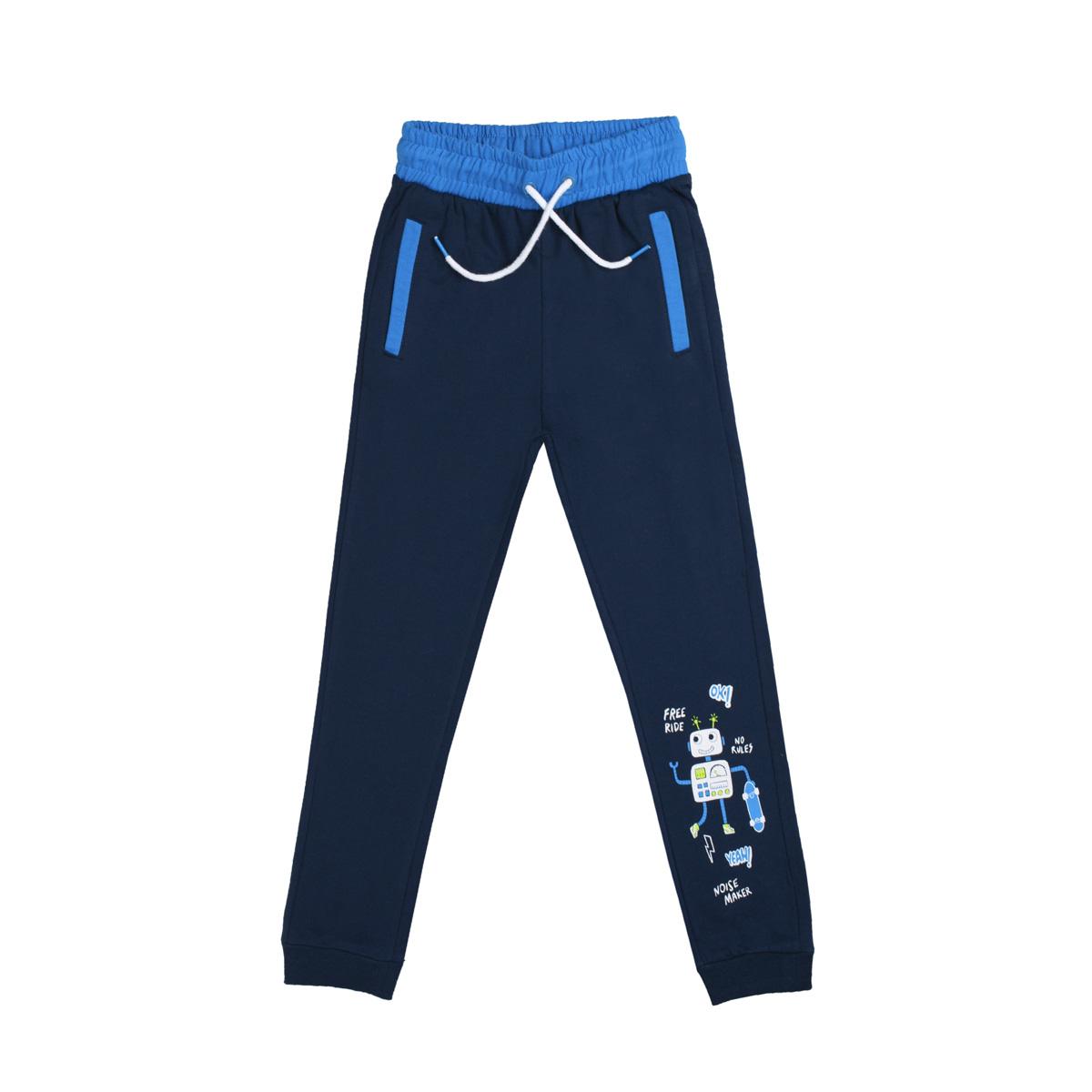 Fantovske hlače, temno modra