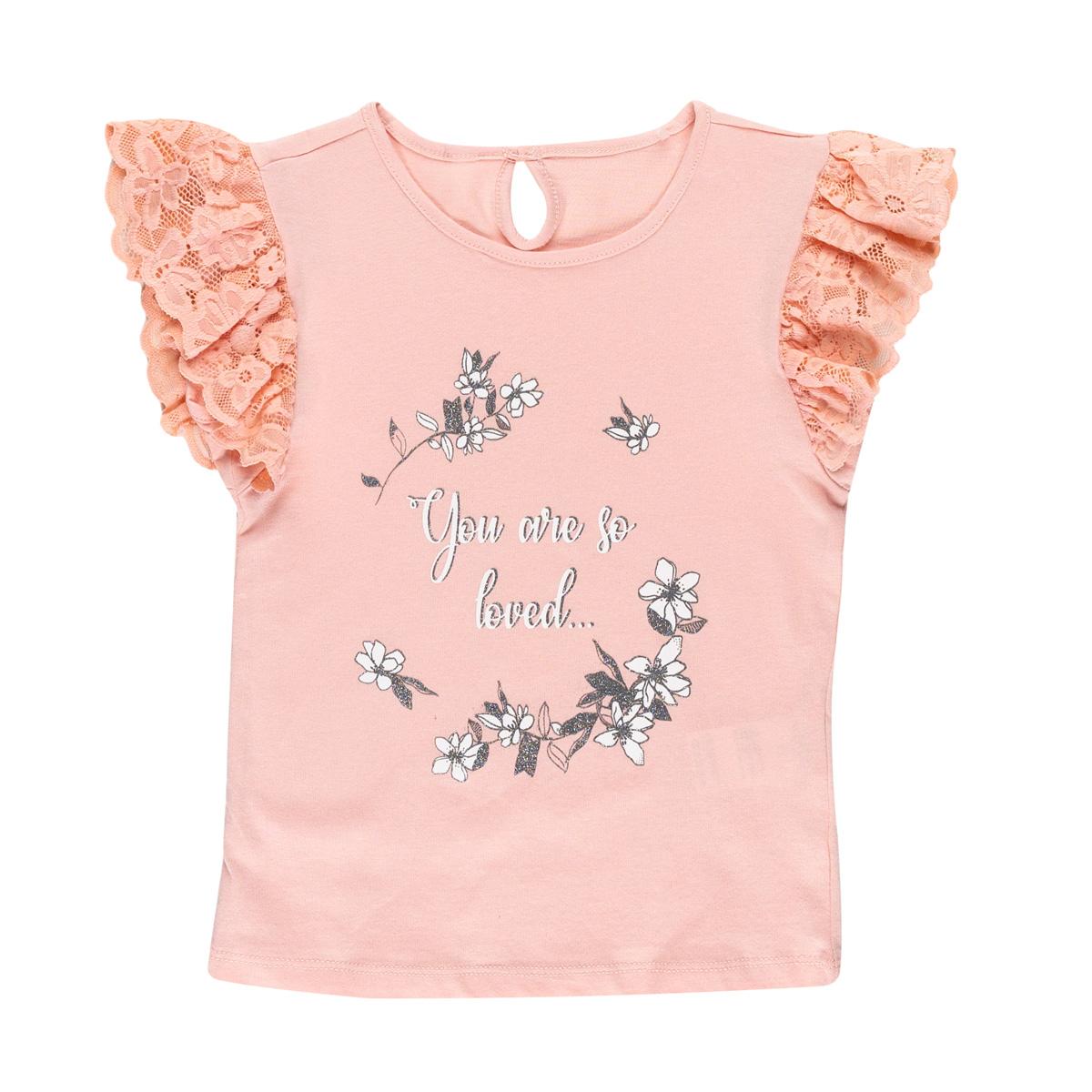 Dekliška bluza, svetlo roza