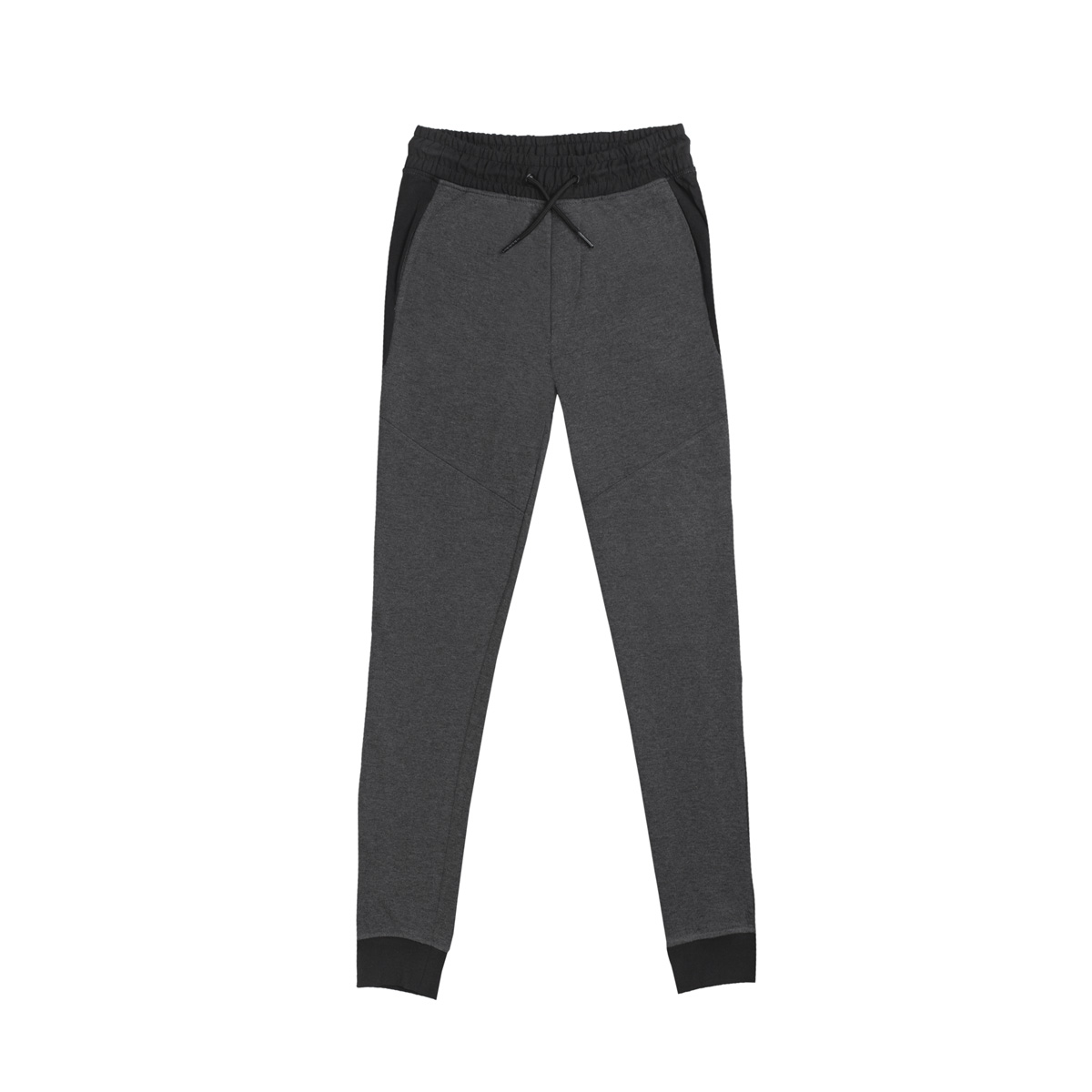 Fantovske hlače, temno melange siva