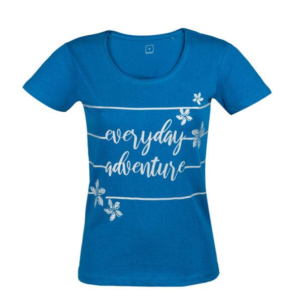 Ženska majica, petrolej
