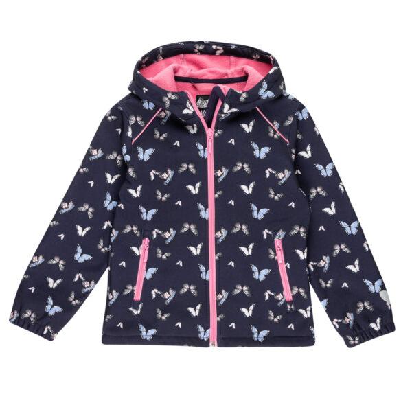 Dekliška jakna, roza