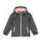 Dekliška jakna, temno melange siva