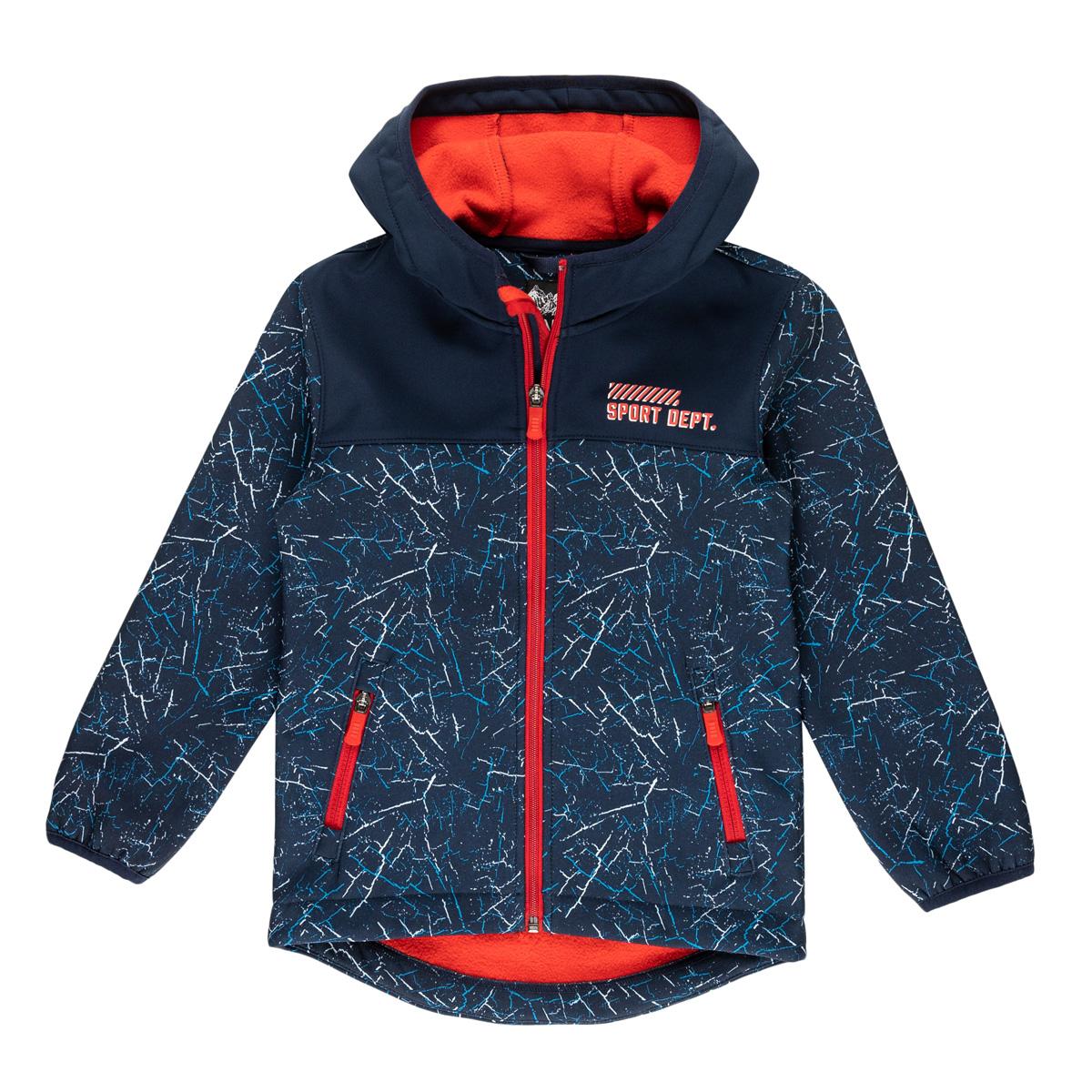Fantovska jakna, temno modra
