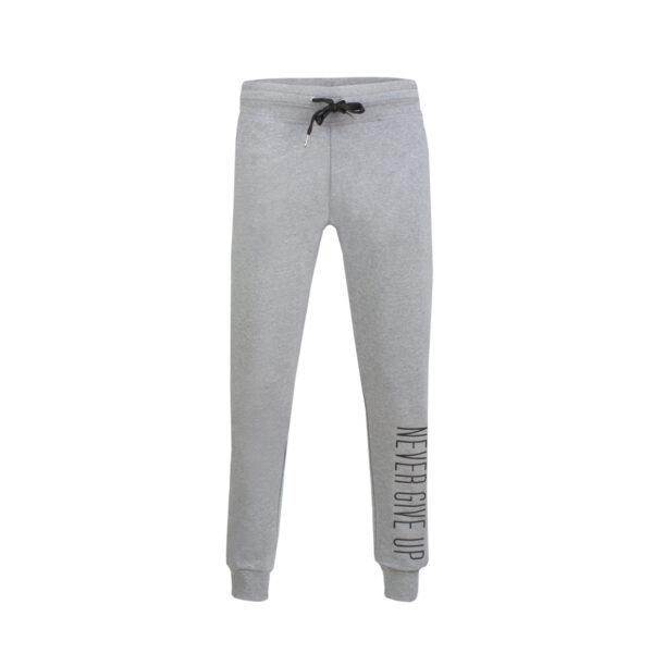 Ženske hlače, melange siva