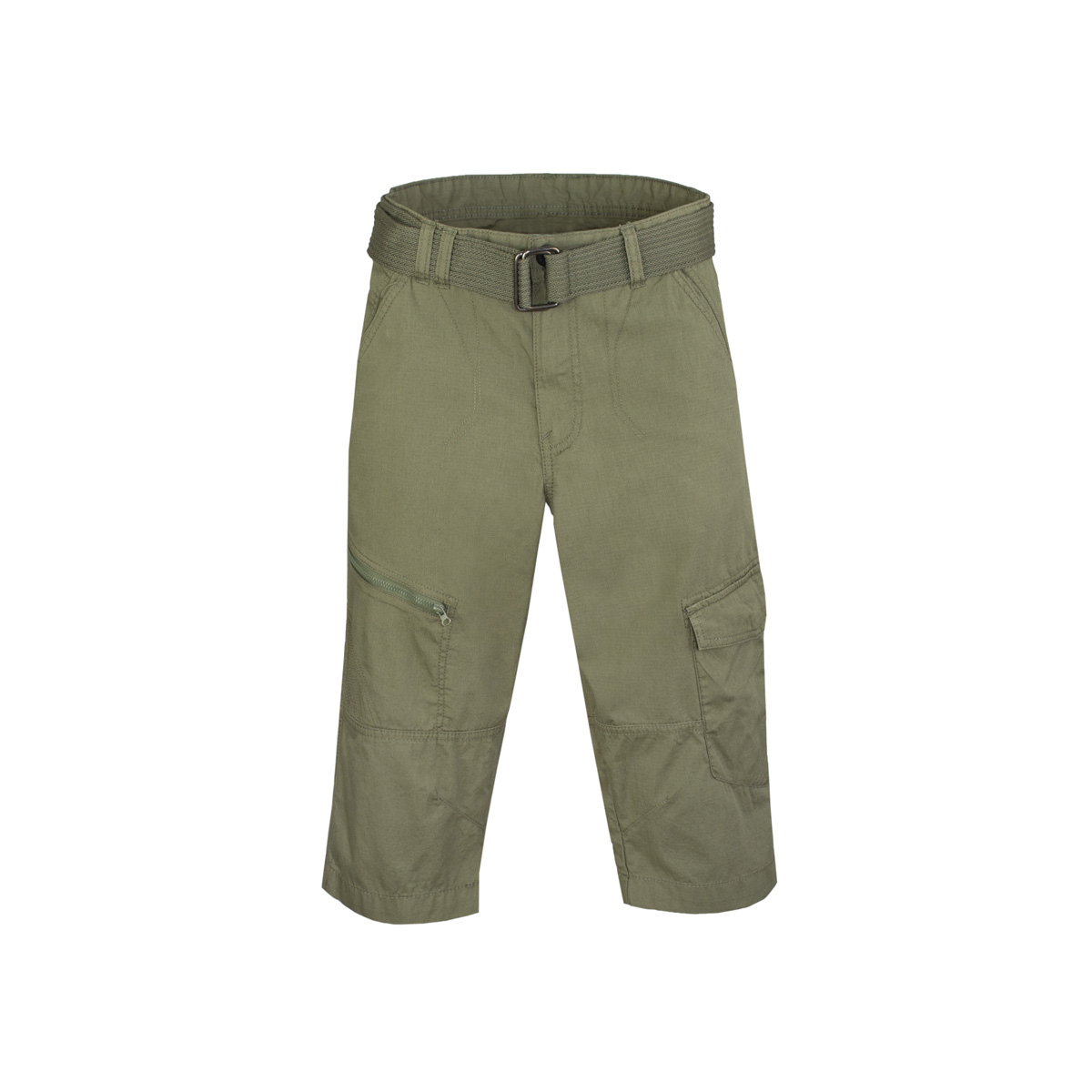 Moške hlače, olivna