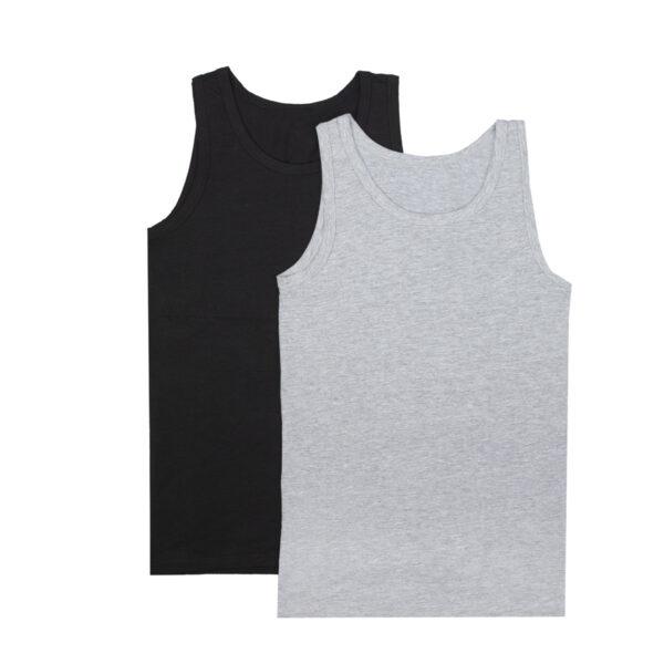 Fantovska sp. majica, melange siva